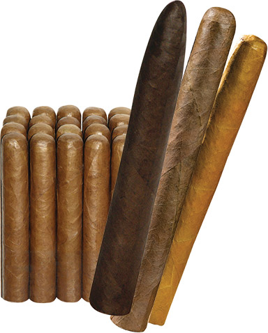 Premium Naked Long-Fill Cameroon Sungrown cigars