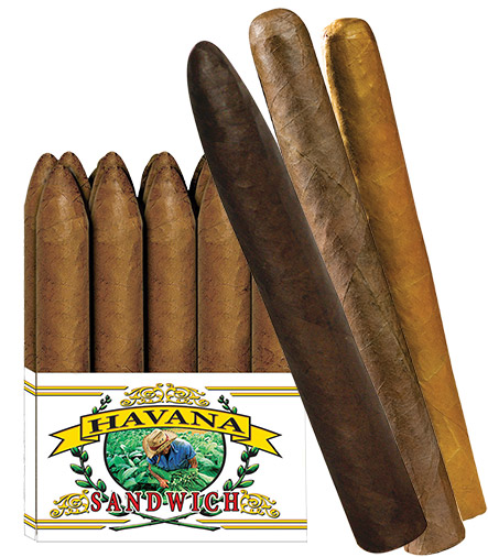 Havana Sandwich Ecuadorian Connecticut cigars